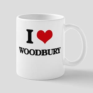 I Love Woodbury Mugs