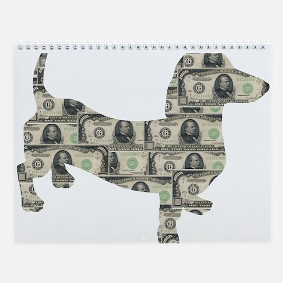 Doxie Dollars Wall Calendar
