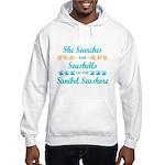 Sanibel shelling Hooded Sweatshirt