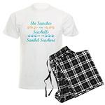Sanibel shelling Men's Light Pajamas