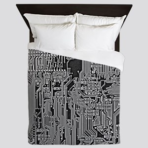 Circuit Queen Duvet