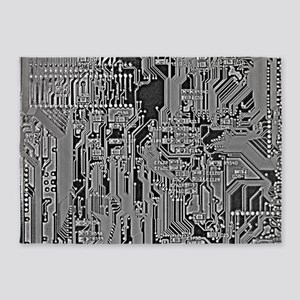 Circuit 5'x7'Area Rug