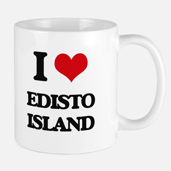 I Love Edisto Island Mugs