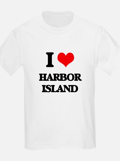 I Love Harbor Island T-Shirt