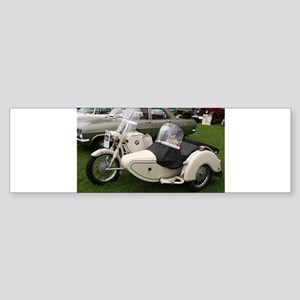 BMW Motorcycle with Sidecar Bumper Sticker