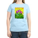 Flowers Keeping Cool Women's Light T-Shirt