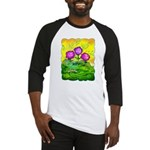 Flowers Keeping Cool Baseball Jersey