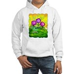 Flowers Keeping Cool Hooded Sweatshirt
