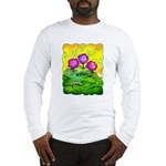 Flowers Keeping Cool Long Sleeve T-Shirt
