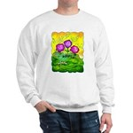 Flowers Keeping Cool Sweatshirt