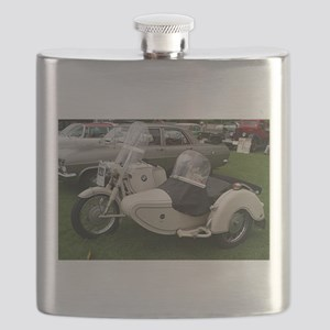BMW Motorcycle with Sidecar Flask