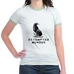 Attempted Murder Jr. Ringer T-Shirt