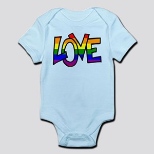 Rainbow Pride Love Body Suit