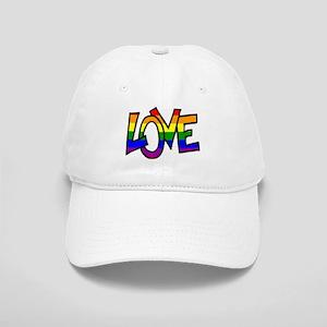 Rainbow Pride Love Cap