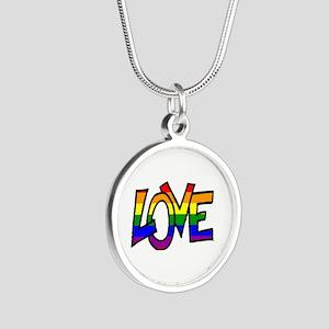 Rainbow Pride Love Necklaces
