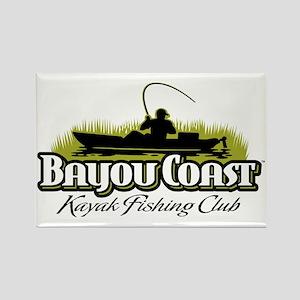 Bayou Coast Logo - Olive Magnets