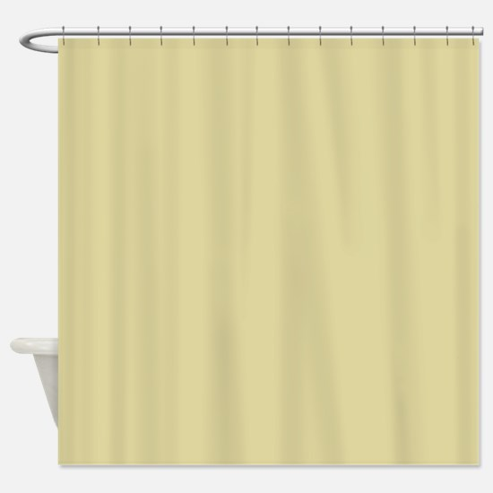 Solid Gold Shower Curtains | CafePress