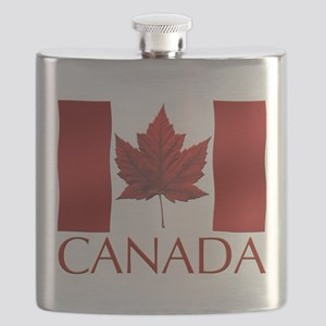 Canadian Flag Souvenir Art Gifts Canada Flas Flask