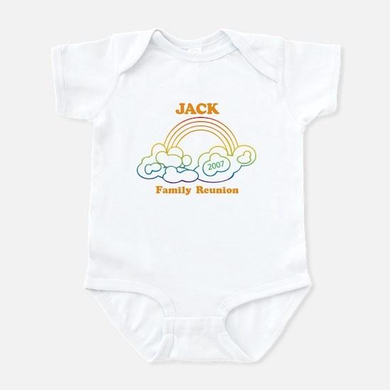 JACK reunion (rainbow) Infant Bodysuit