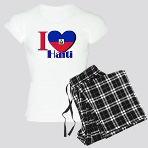 I love Haiti Women's Light Pajamas