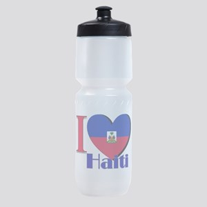I love Haiti Sports Bottle