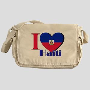 I Love Haiti Messenger Bag