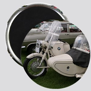 BMW Motorcycle with Sidecar Magnets