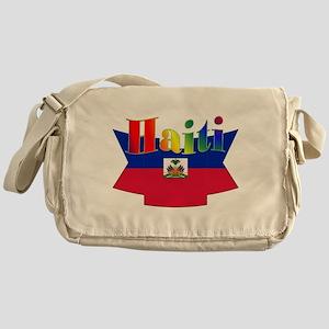 Ribbon Haiti Messenger Bag