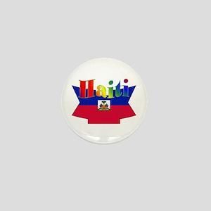 Ribbon Haiti Mini Button