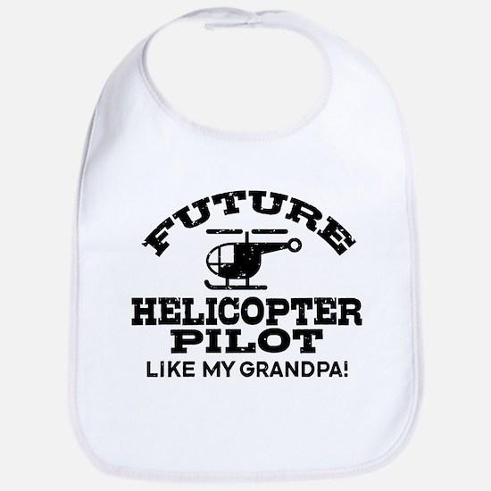 futurehelicoptergrandpa Baby Bib