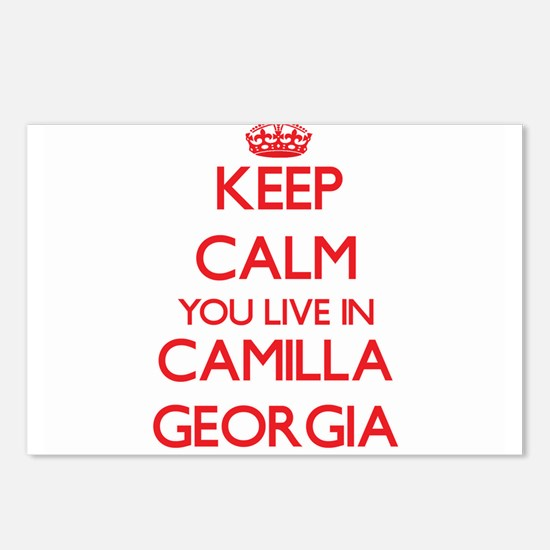 Keep calm you live in Cam Postcards (Package of 8)
