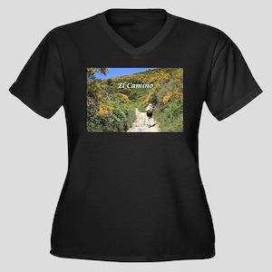 El camino de Santiago, Spain, Eu Plus Size T-Shirt