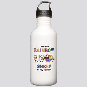 Rainbow Sheep Water Bottle