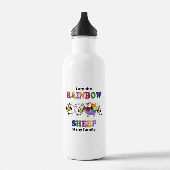Rainbow Sheep Water Bottle