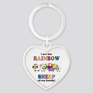 Rainbow Sheep Keychains