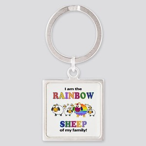 Rainbow Sheep Keychains