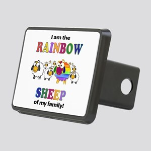 Rainbow Sheep Hitch Cover