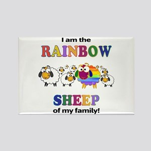 Rainbow Sheep Magnets