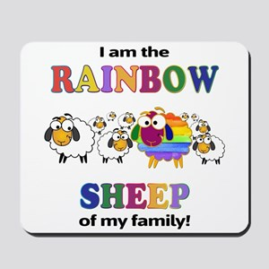 Rainbow Sheep Mousepad