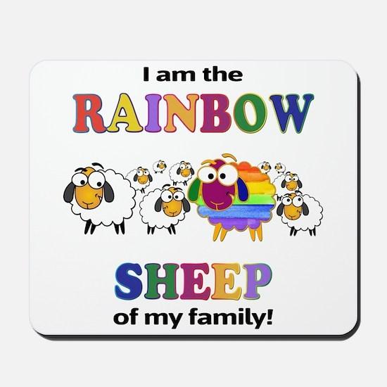 Rainbow Sheep Mousepad