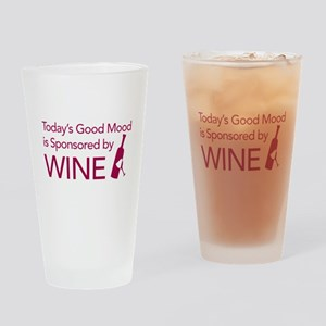 Today's Mood Drinking Glass