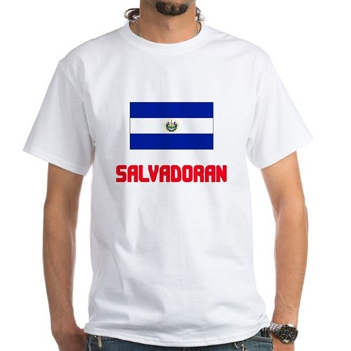 Salvadoran Flag Design T-Shirt