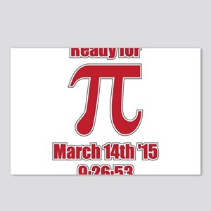 Math Humor Pi Postcards (Package of 8)