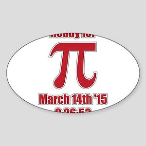 Math Humor Pi Sticker