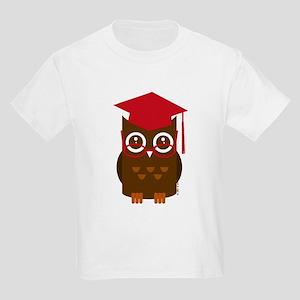 Graduation Owl Kids Light T-Shirt