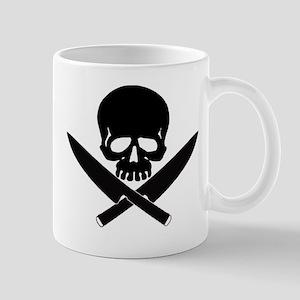 Skull& knives Mug