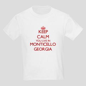 Keep calm you live in Monticello Georgia T-Shirt