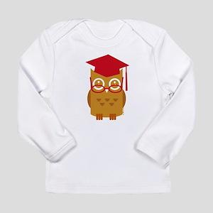 Graduation Owl Long Sleeve Infant T-Shirt