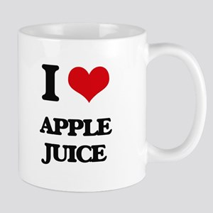 I Love Apple Juice ( Food ) Mugs