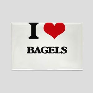 I Love Bagels ( Food ) Magnets